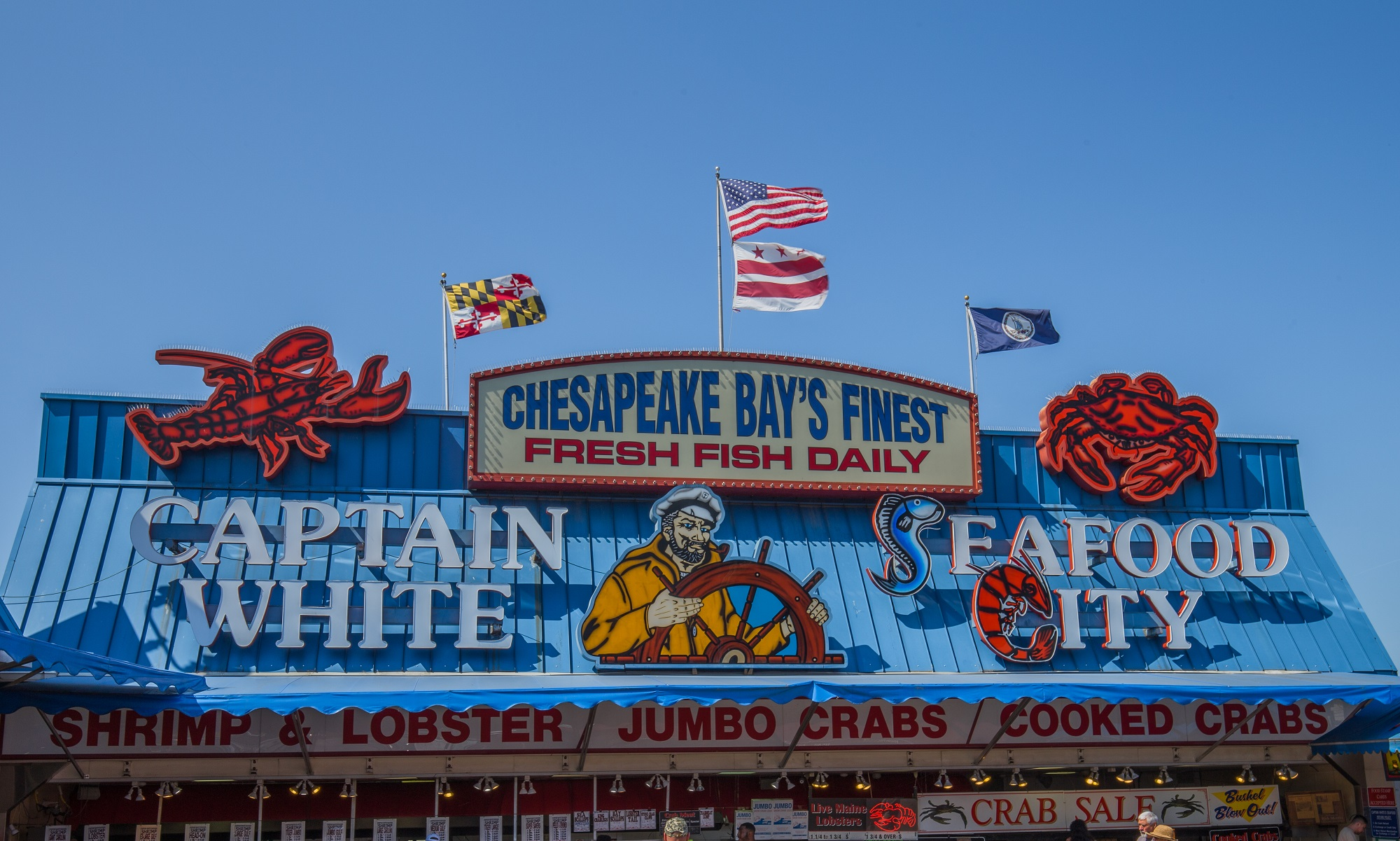 Captain White Seafood