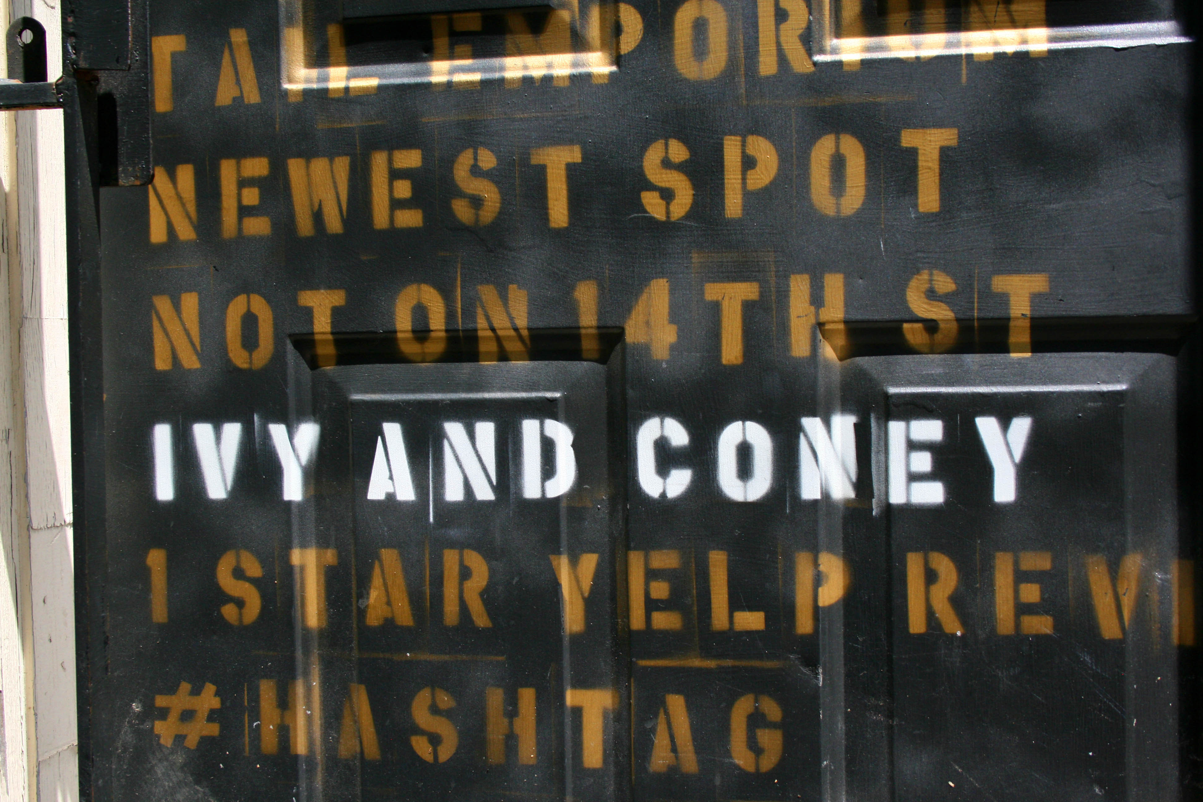 Ivy and Coney